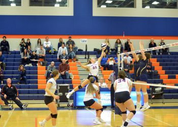 Armstrong outside hitter Loryn Bowser (31) was recognized by the WPIAL following her spectacular senior season. Bowser led the River Hawks in kills and was named first team all-section as well as a first team WPIAL 3A all-star.